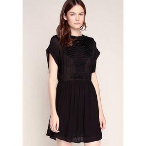 NWT Iro Dajana Textured Open Back Dress